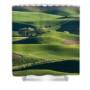 The Palouse #2 Shower Curtain