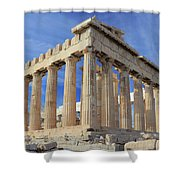 The Parthenon Acropolis Athens Greece Shower Curtain