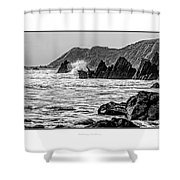 The Pembrokeshire Coast Shower Curtain