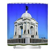 The Pennsylvania Monument Shower Curtain
