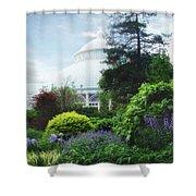 The Perennial Garden Shower Curtain