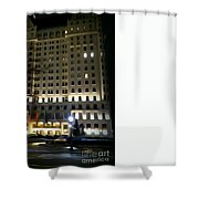 The Plaza Hotel Shower Curtain