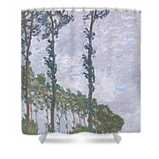 The Poplars Shower Curtain