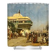 The Port Of Algiers Shower Curtain