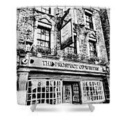 The Prospect Of Whitby Pub London Art Shower Curtain