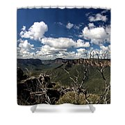 The Pulpit Rock Lookout Shower Curtain