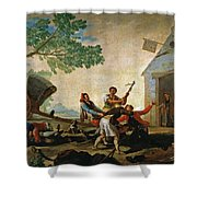 The Quarrel In The New Tavern Shower Curtain