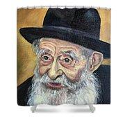 The Rabbi Shower Curtain