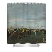 The Races Shower Curtain