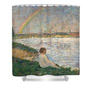 The Rainbow  Shower Curtain
