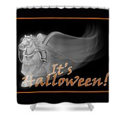 The Reaper Rides Again Shower Curtain