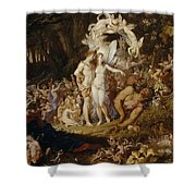 The Reconciliation Of Oberon And Titania Shower Curtain