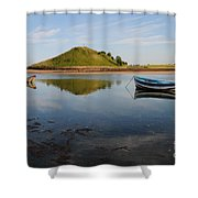 The River Aln Shower Curtain