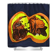 The Road To Bethlehem Shower Curtain