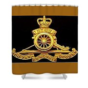 The Royal Artillery Shower Curtain