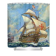 The Santa Maria Shower Curtain