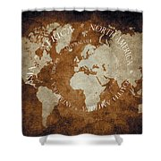 The Seven 05 04 2015 Shower Curtain