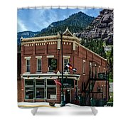 The Silver Nugget Restaurant Shower Curtain
