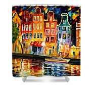 The Sky Of Amsterdam Shower Curtain
