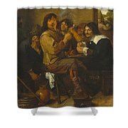 The Smokers Shower Curtain