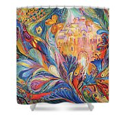 The Spirit Of Jerusalem Shower Curtain