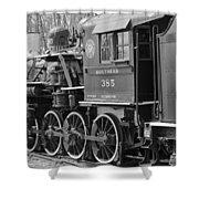 The Steam Engine  Shower Curtain