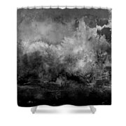 The Storm Shower Curtain by Wolfgang Schweizer
