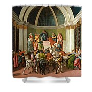 The Story Of Virginia Shower Curtain