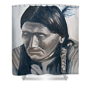 The Story Teller Shower Curtain