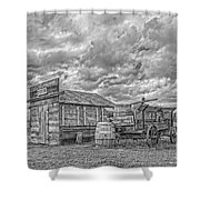 The Sutler's Store Shower Curtain