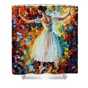 The Symphony Of Dance Shower Curtain