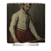 The Tailor Il Tagliapanni Shower Curtain