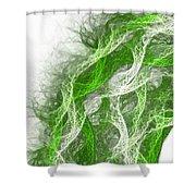 The Thread Shower Curtain