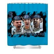 The Three Tenors Shower Curtain