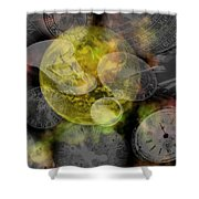 The Time Is Out Of Joint Shower Curtain