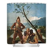 The Tobacco Guards Shower Curtain