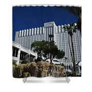 The Tropicana Hotel And Casino, Las Vegas Shower Curtain