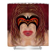 The Ultimate Warrior  Shower Curtain