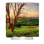 The Valley  Ed1 Shower Curtain