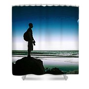 The Wanderer Shower Curtain