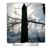 The Washington Monument  Shower Curtain