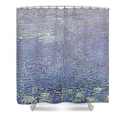 The Water Lilies, Morning Shower Curtain