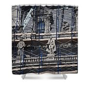 The Wiseguys Shower Curtain