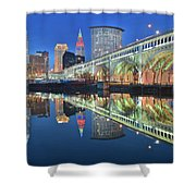 This Is Cleveland II Shower Curtain