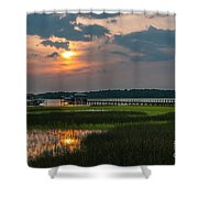 Thriving Beauty Of The Lowcountry Shower Curtain