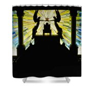 Throne Of Grace Shower Curtain