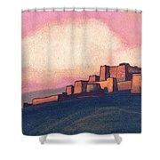 Tibetan Fortress Shower Curtain