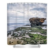 Tides Of Flowing Time Shower Curtain