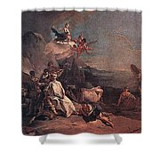 Tiepolo The Rape Of Europa Giovanni Battista Tiepolo Shower Curtain