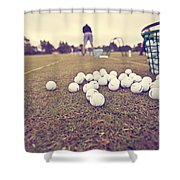 Time On The Range Shower Curtain